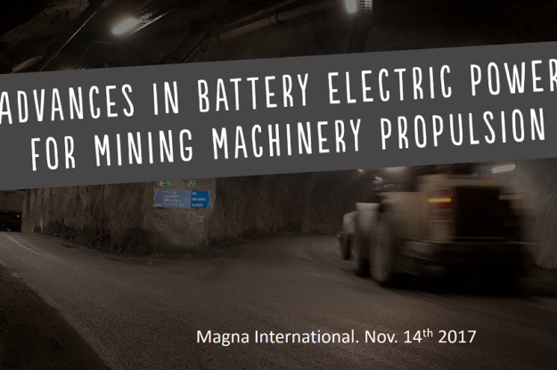 Advances in battery electric propulsion